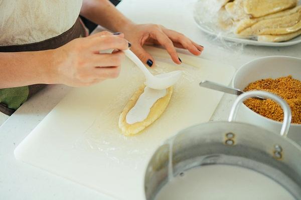 2-Cách làm kem chuối với sữa đặc có đường