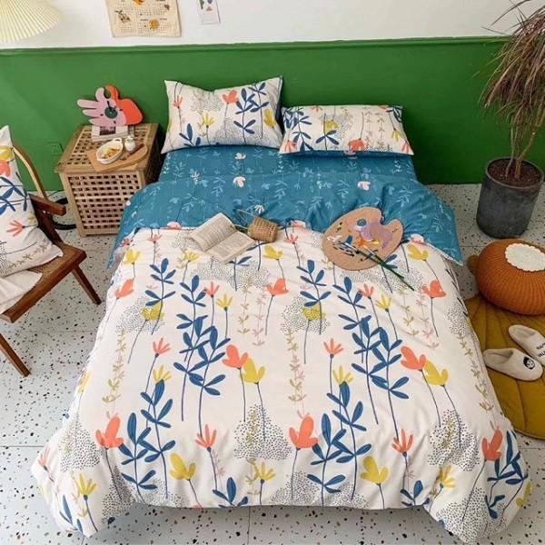 Thêm màu sắc, họa tiết khi thiết kế phòng ngủ