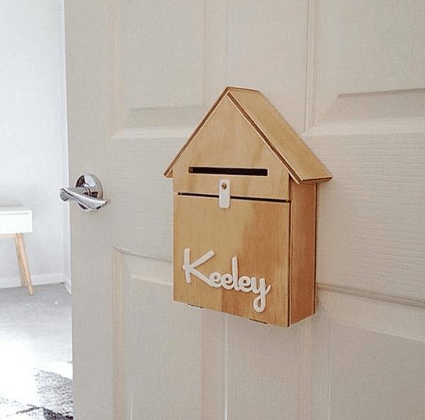 cách xây nhà đẹp hộp thư trước nhà