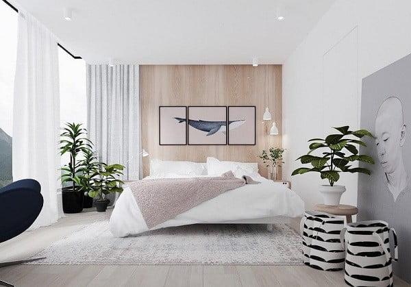 Cây xanh giúp thanh lọc không khí phòng ngủ