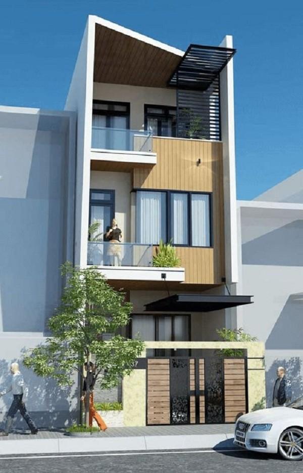 Chi phí xây nhà 3 tầng 100m2 đa phong cách