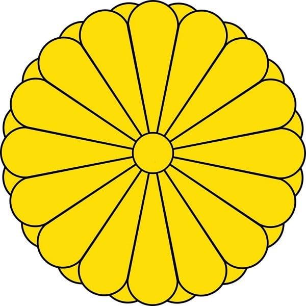 hoa cúc quốc huy Nhật Bản