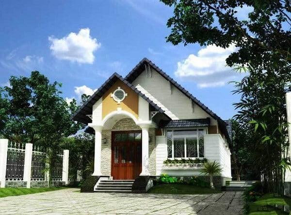 Mẫu nhà đẹp mái Thái Lan 4 phòng ngủ