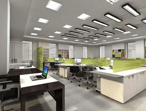 trần thạch cao văn phòng đẹp