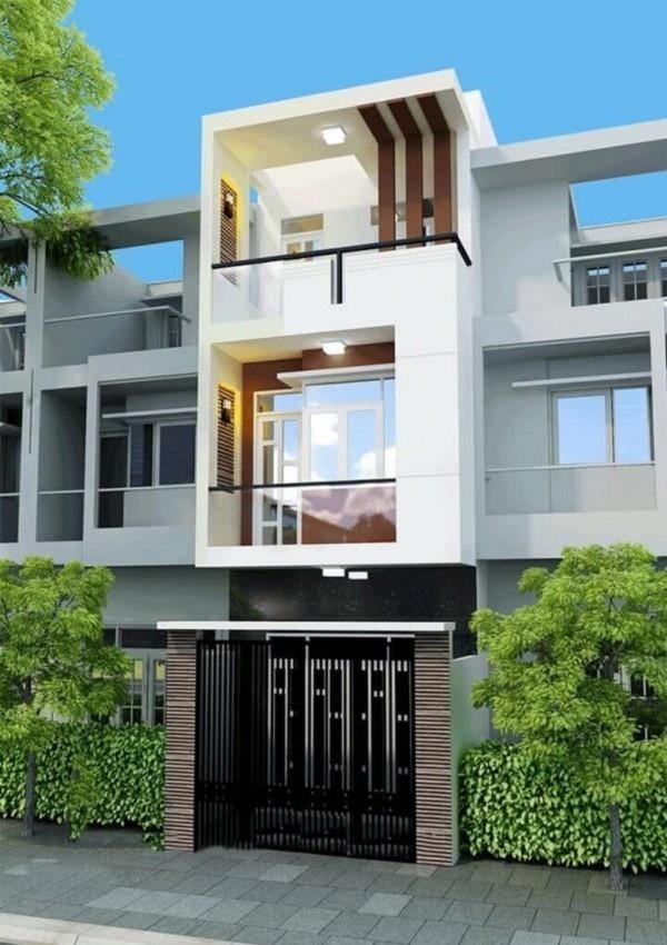 Nhà đẹp diện tích nhỏ 30m2 3 tầng