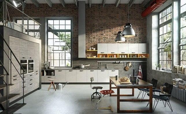 Nội thất nhà đẹp phong cách Industrial (công nghiệp)
