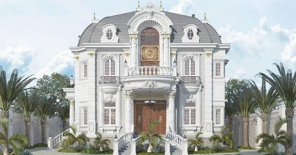 Thiết kế biệt thự cổ điển ở Cần Thơ