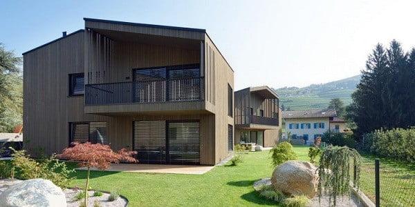 Thiết kế nhà đẹp 2 tầng chữ l