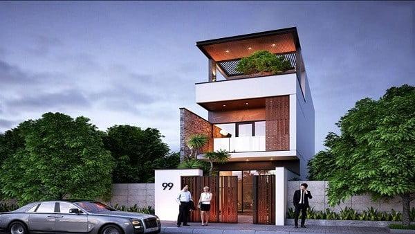 Thiết kế và xây dựng nhà 3 tầng 100m2 hết bao nhiêu tiền