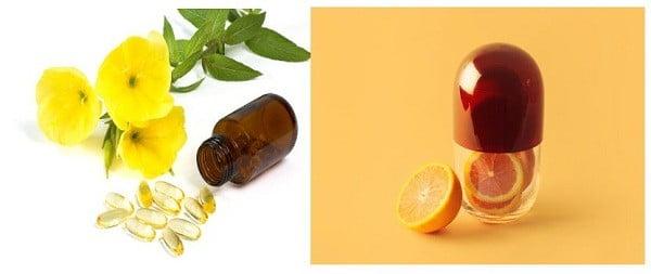 Tinh dầu hoa anh thảo với vitamin C