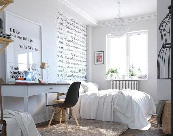 nội thất phòng ngủ nhiều ánh sáng