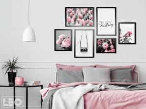 Tranh nghệ thuật làm điểm nhấn cho phòng ngủ