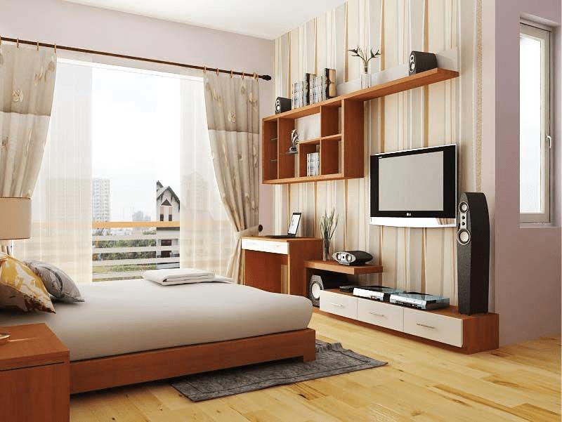 Trang trí phòng ngủ hiện đại