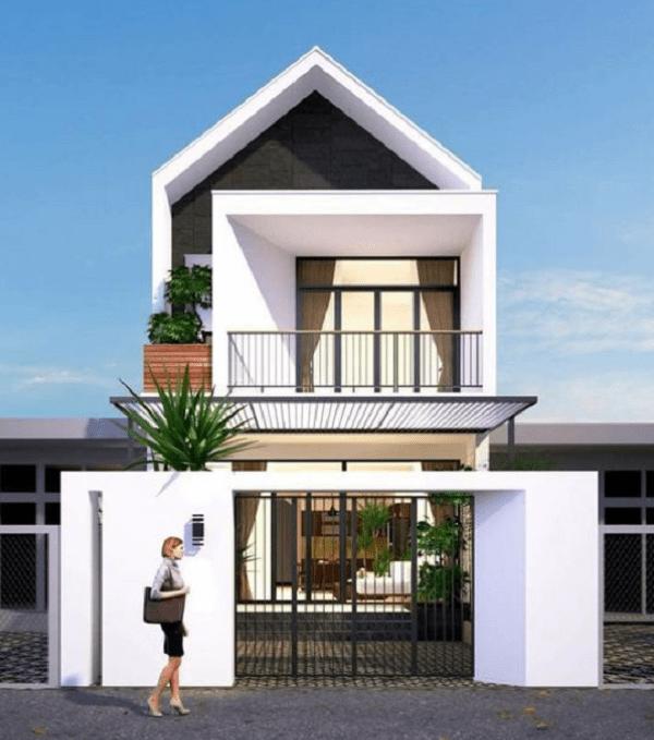 xây nhà 2 tầng với giá 200 triệu diện tích nhỏ