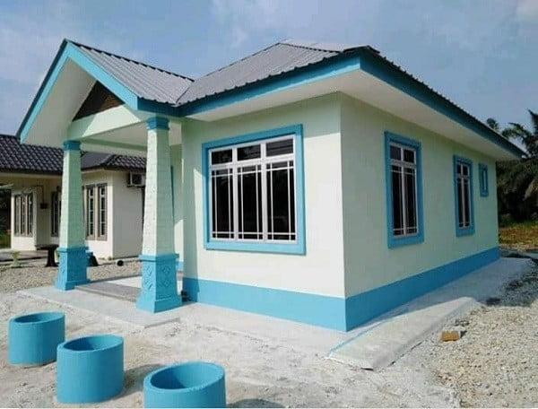 xây nhà cấp 4 50m2