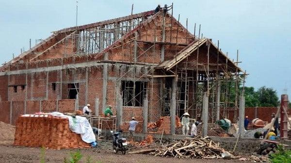 xây nhà cấp 4 giá 300 triệu