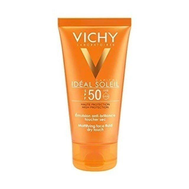 vichy idéal soleil mattifying face fluid dry touch